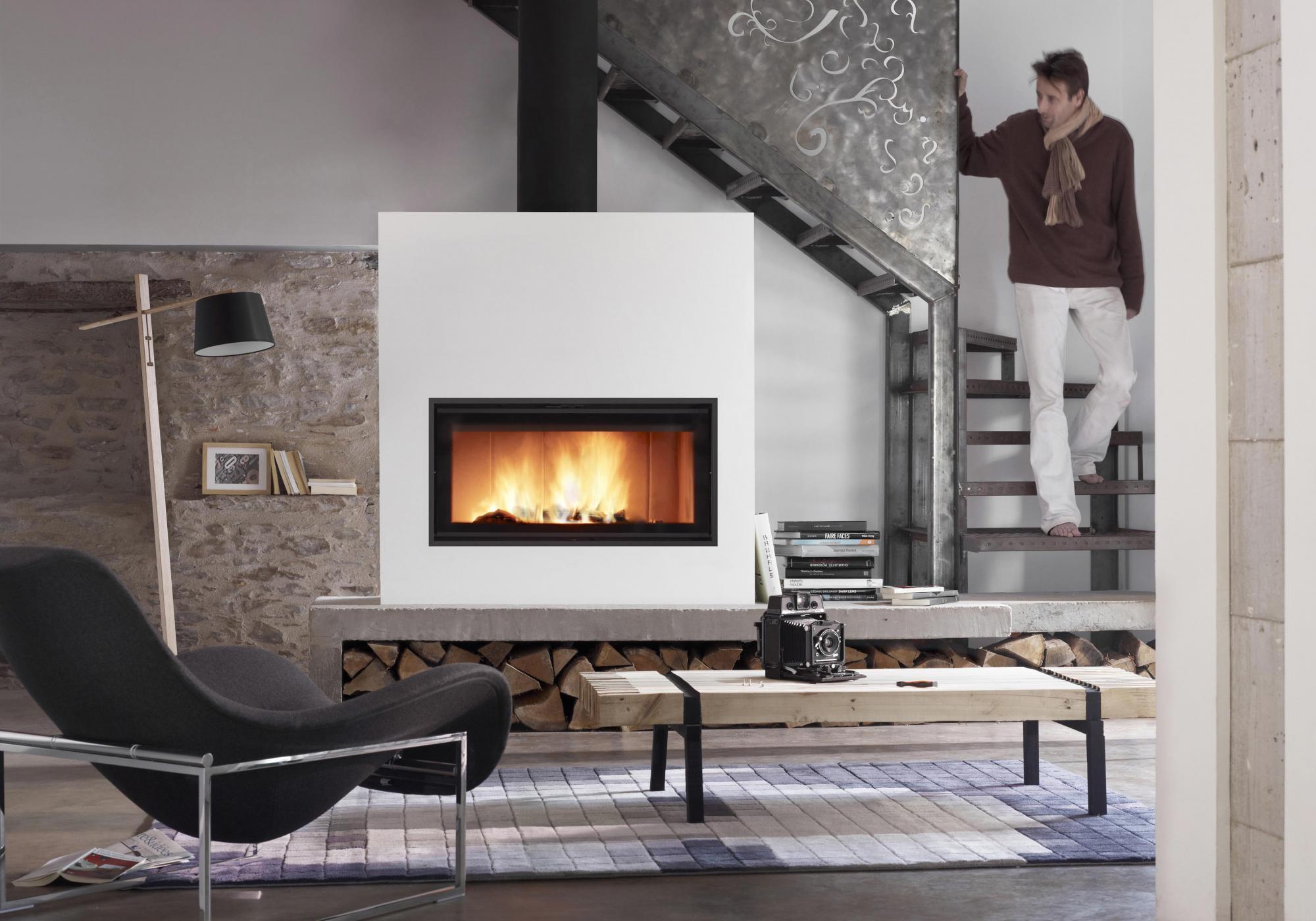 """Résultat de recherche d'images pour """"cheminée lorflam vs 100"""""""